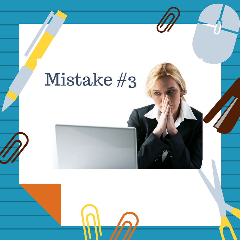 #3 Of The Top 10 Mistakes Authors Make