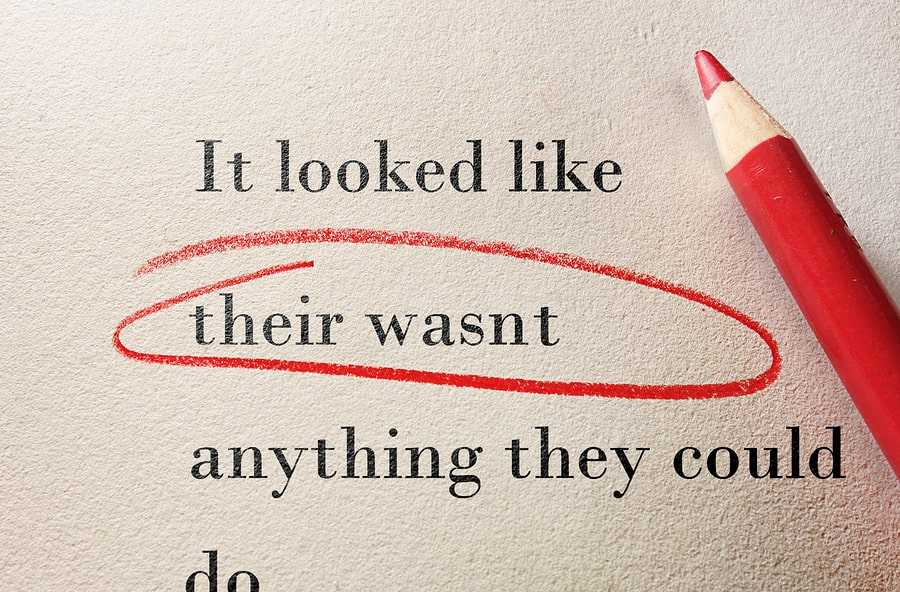 The difference between line editing and copyediting