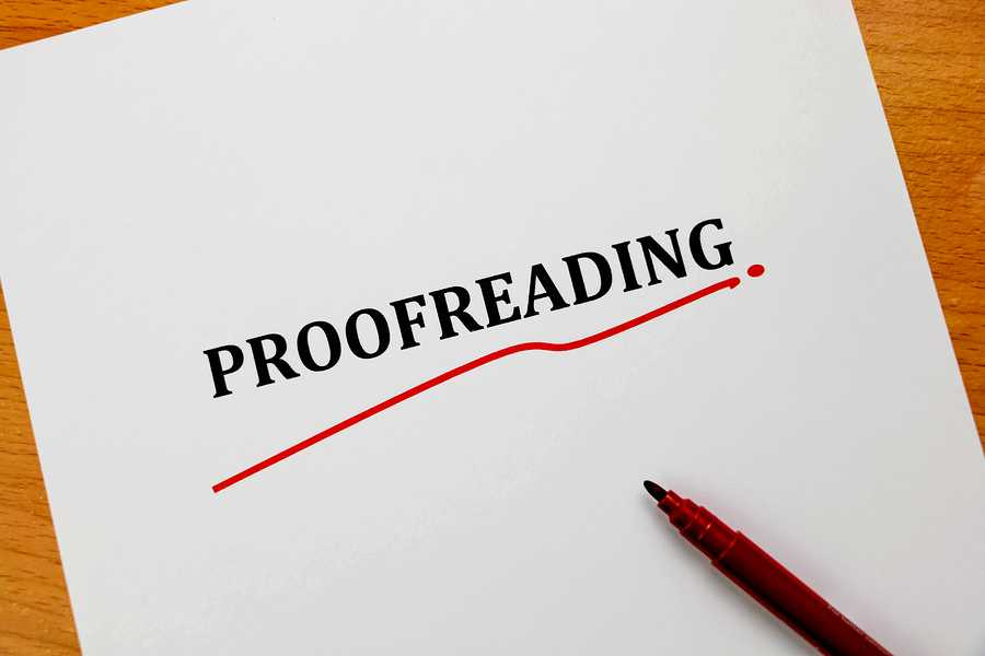 how to proofread