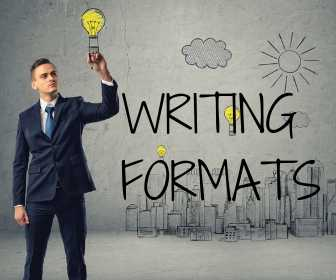5 Types of Writing Formats