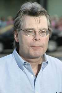 "Stephen King at the Los Angeles premiere of ""The Manchurian Candidate"" held at the AMPAS in Beverly Hills, California United States on July 22, 2004."