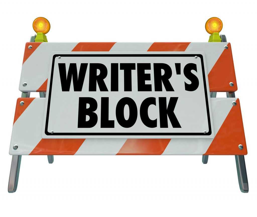 Essay writing writer's block
