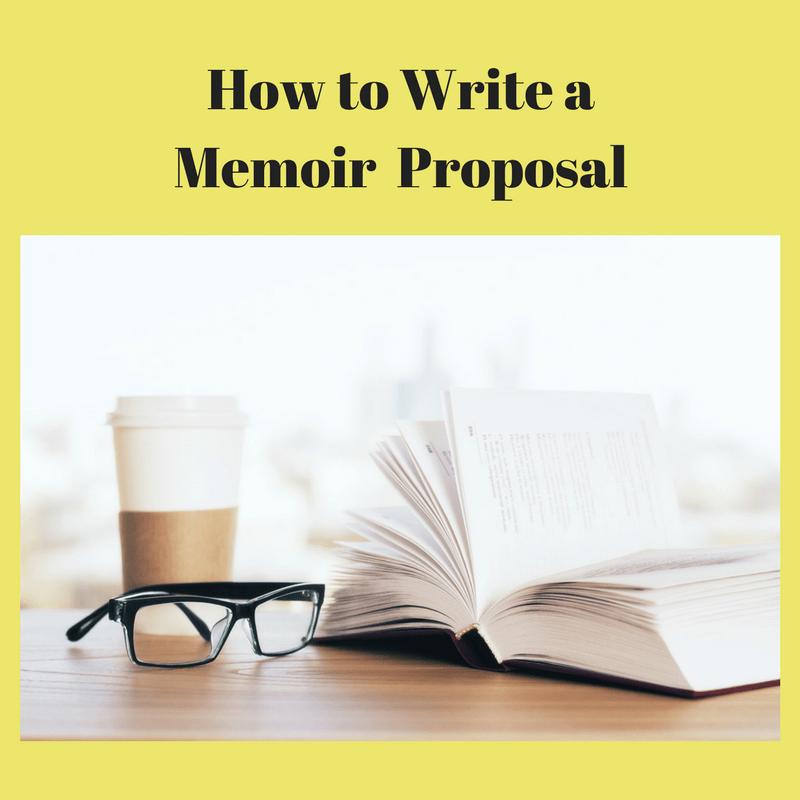 How To Write A Memoir Book Proposal