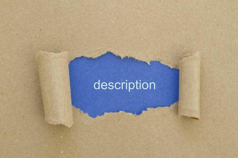 Descriptive essay exercises