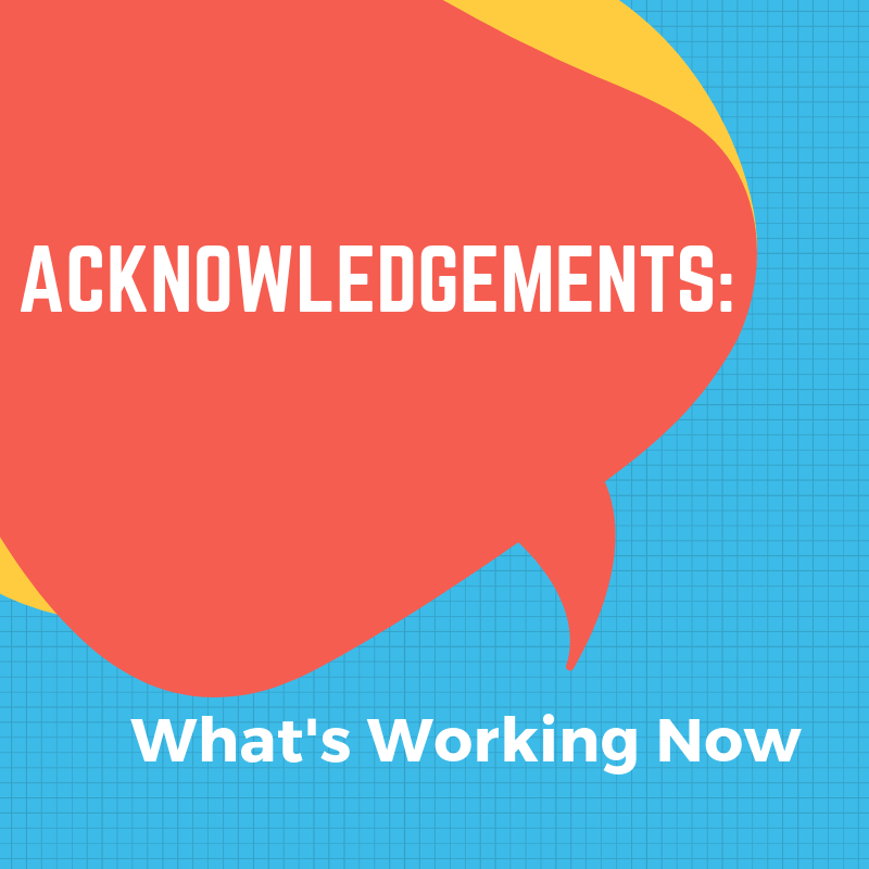 Examples Of Book Acknowledgments Pages